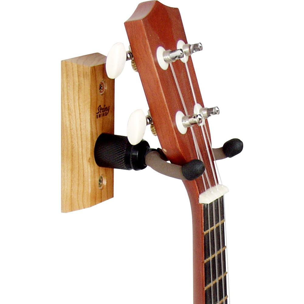 String Swing Hardwood Home and Studio Ukulele Hanger by String Swing