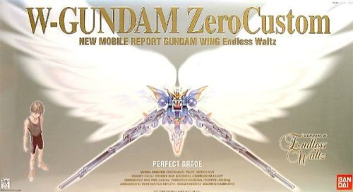 Bandai Hobby Wing Gundam Zero Custom 1 60 PG Perfect Grade Model Kit by Bandai Hobby
