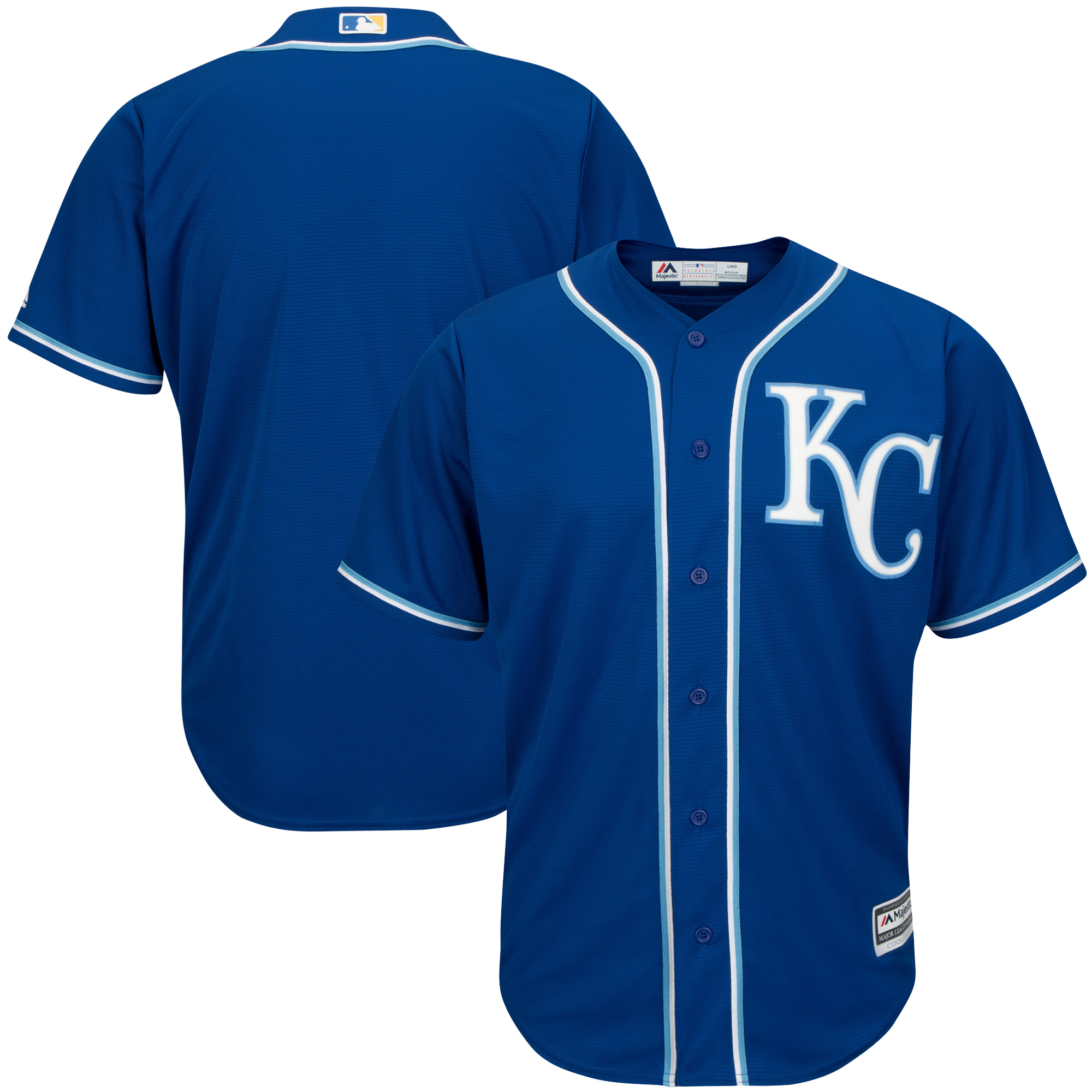 Kansas City Royals Youth Alternate Replica Blank Team Jersey - Royal