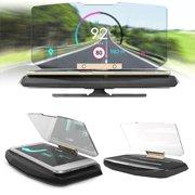 SPRING PARK 6.5inch Car Auto Head Up Display HUD Phone Holder GPS Navigation Projection