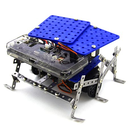11 in 1 Programmable Robot Kit - STEM Learning Educational Robotics Kit for Beginner and Arduino Learners with Video Tutorials, Rokit Smart by Robolink