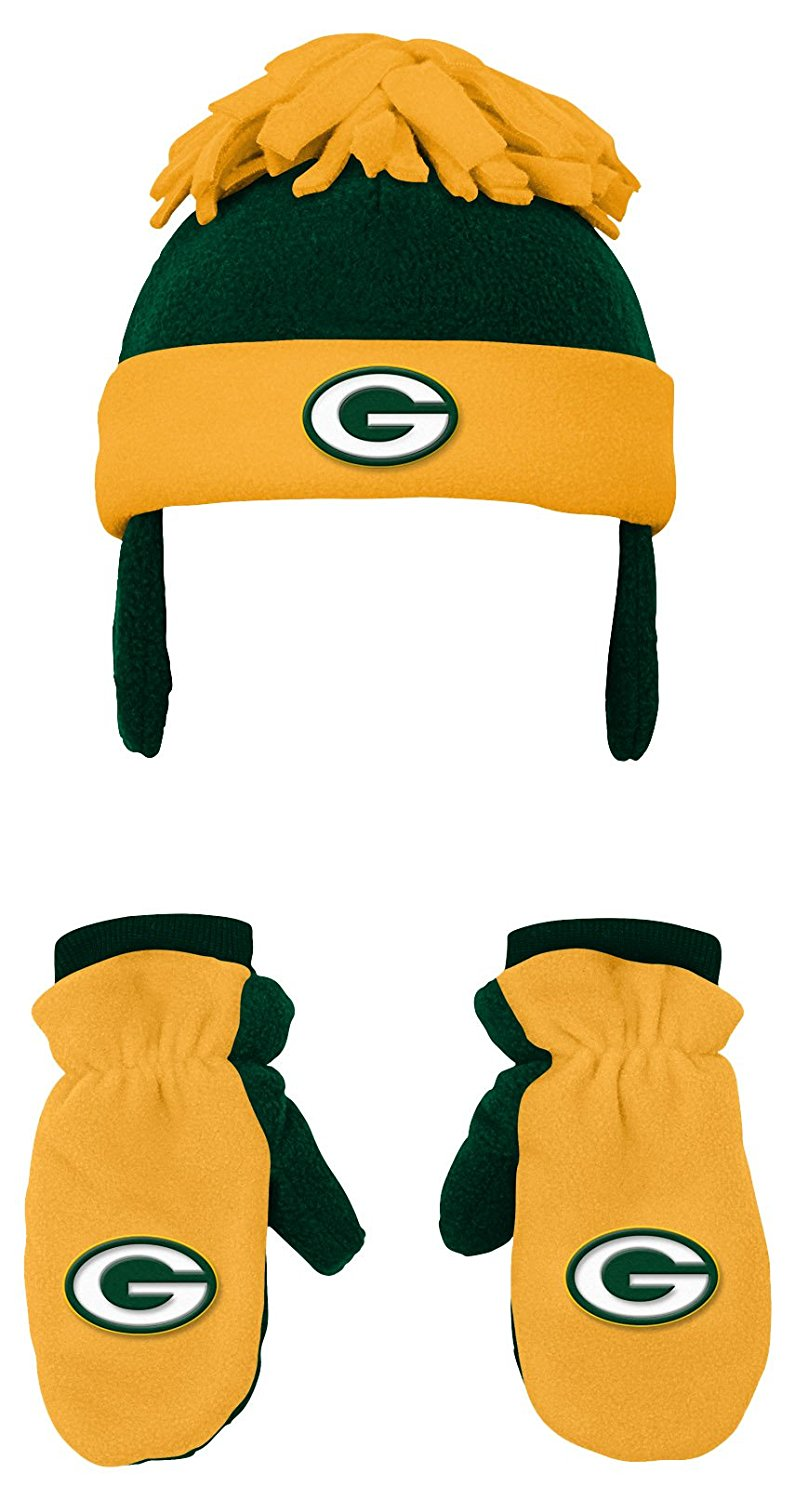 Green Bay Packers Toddler 2-Piece Winter Set by Genuine Outerstuff
