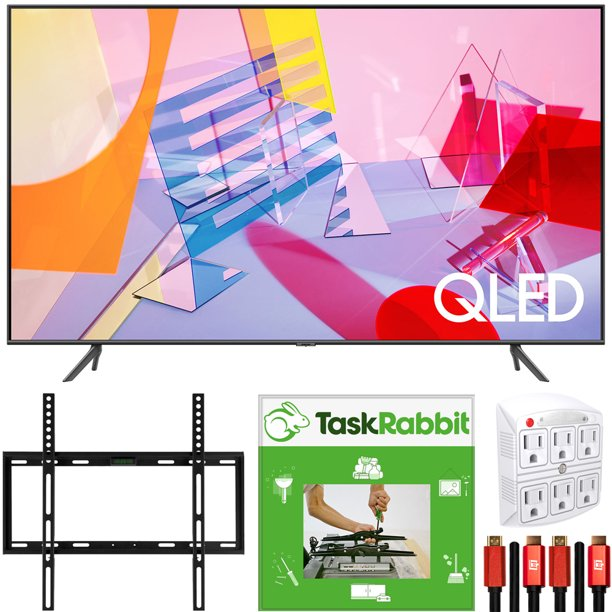 Taskrabbit Christmas Party 2020 Samsung QN43Q60TA 43 inch Class Q60T QLED 4K UHD HDR Smart TV