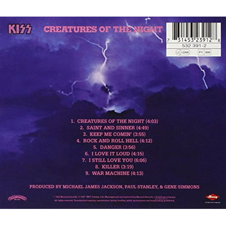 Creatures of the Night (CD)