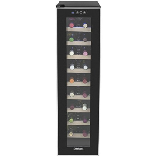 Cuisinart CWC-1800TS 18-Bottle Private Reserve Wine Cellar by CONAIR