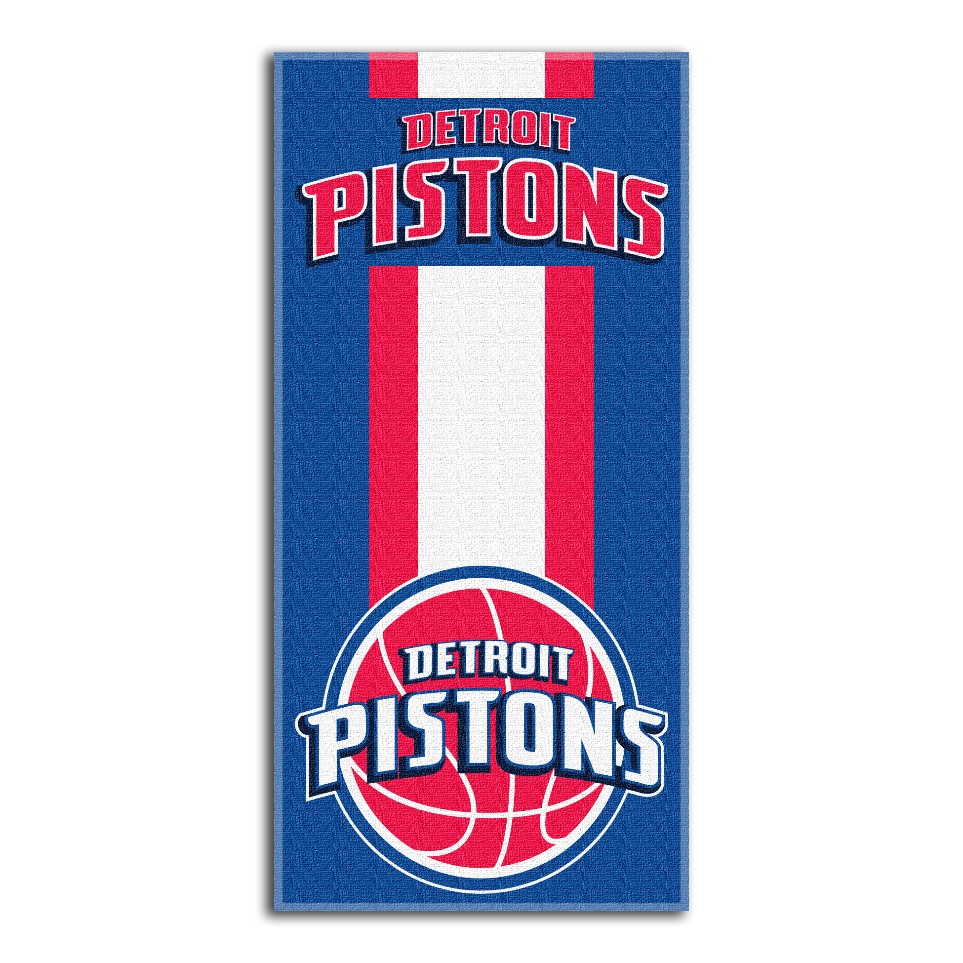 Detroit Pistons The Northwest Company Zone Read Beach Towel - No Size