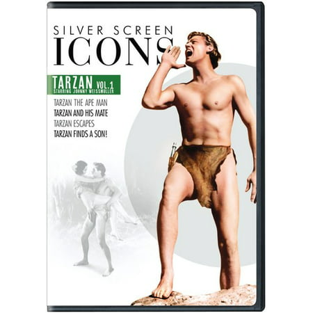Silver Screen Icons: Johnny Weissmuller as Tarzan Volume 1 (DVD)
