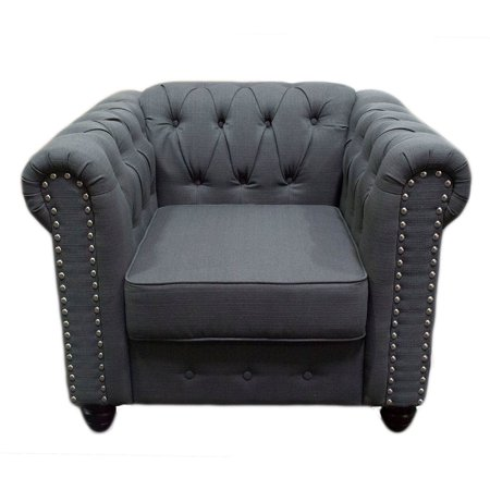 Best Master Furniture Venice Upholstered Chair