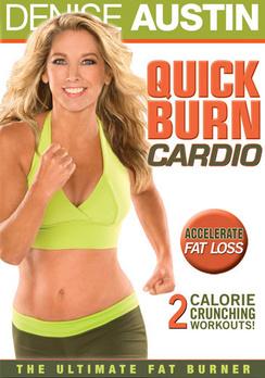 Denise Austin: Quick Burn Cardio (DVD) by Lionsgate
