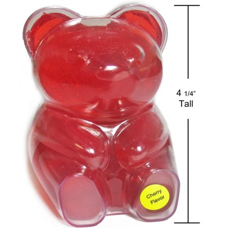 BIG BIG Cherry Gummy Bear (13oz)](Gummy Bear Warning Halloween)