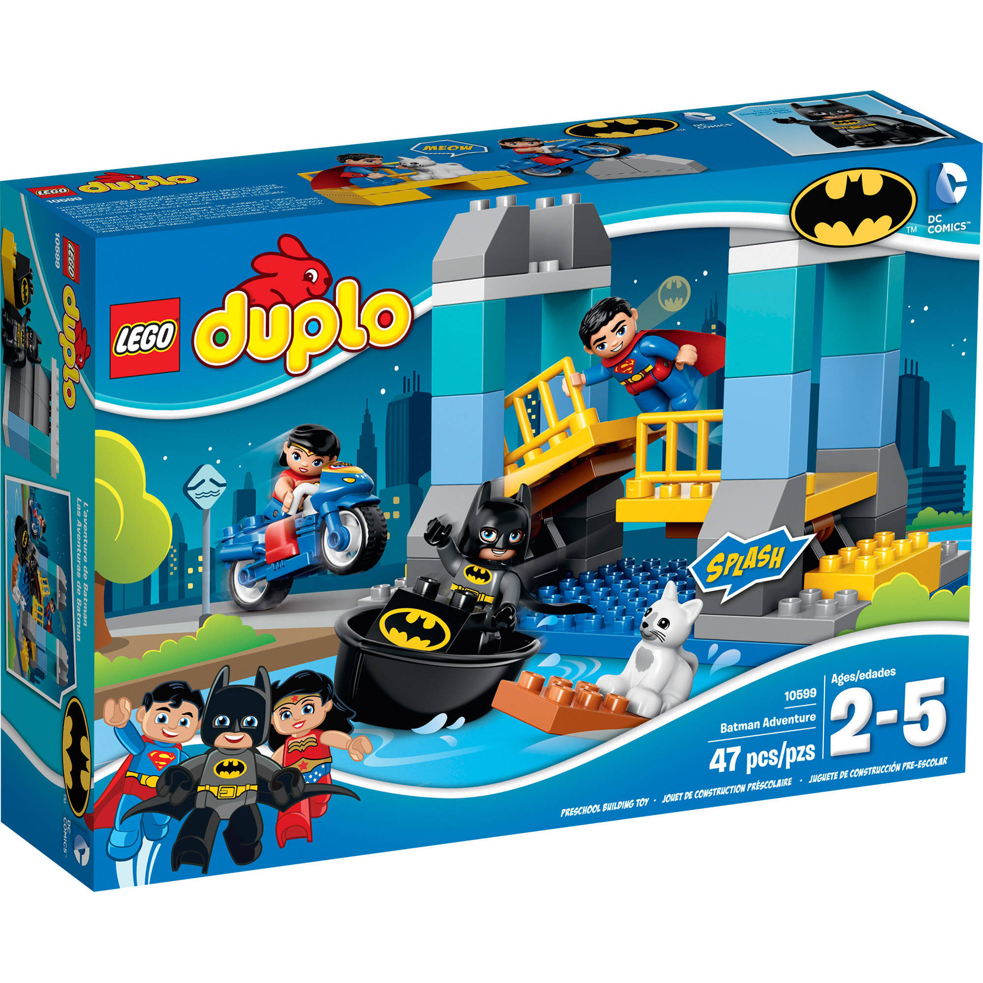 LEGO DUPLO Super Heroes Batman Adventure, 10599 10599