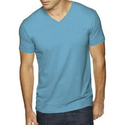 Ma Croix Men's Premium Solid Cotton V Neck T-Shirts Short Sleeve Tee