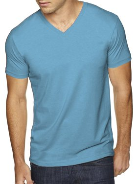 9e83c409 Product Image Men's Premium Solid Cotton V Neck T-Shirts Short Sleeve Tee