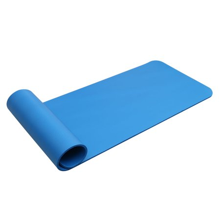 Zimtown 8mm / 10mm / 15mm Folding Yoga Mat Non-slip Fitness Exercise Pad with Carrying Strap for Pilates Workout Gym