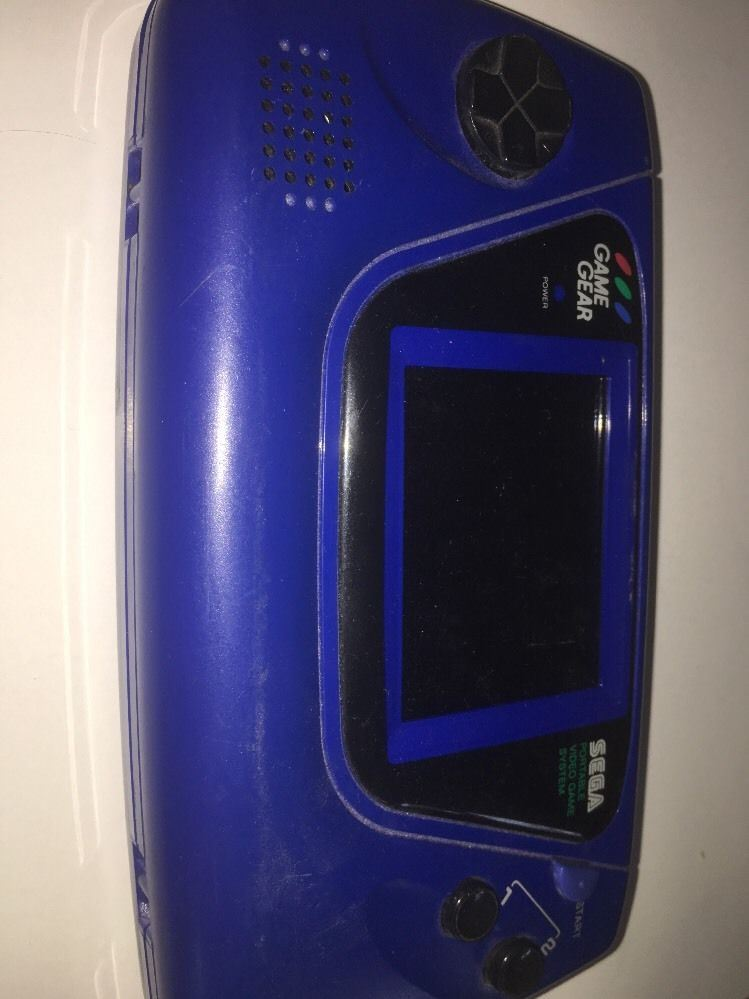 Sega Game Gear Portable Video Game System, Blue by