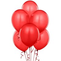 PMU Balloons 14 Inch PartyTex Premium Latex Red Pkg/100