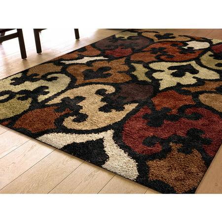 lambert black area rug. Black Bedroom Furniture Sets. Home Design Ideas