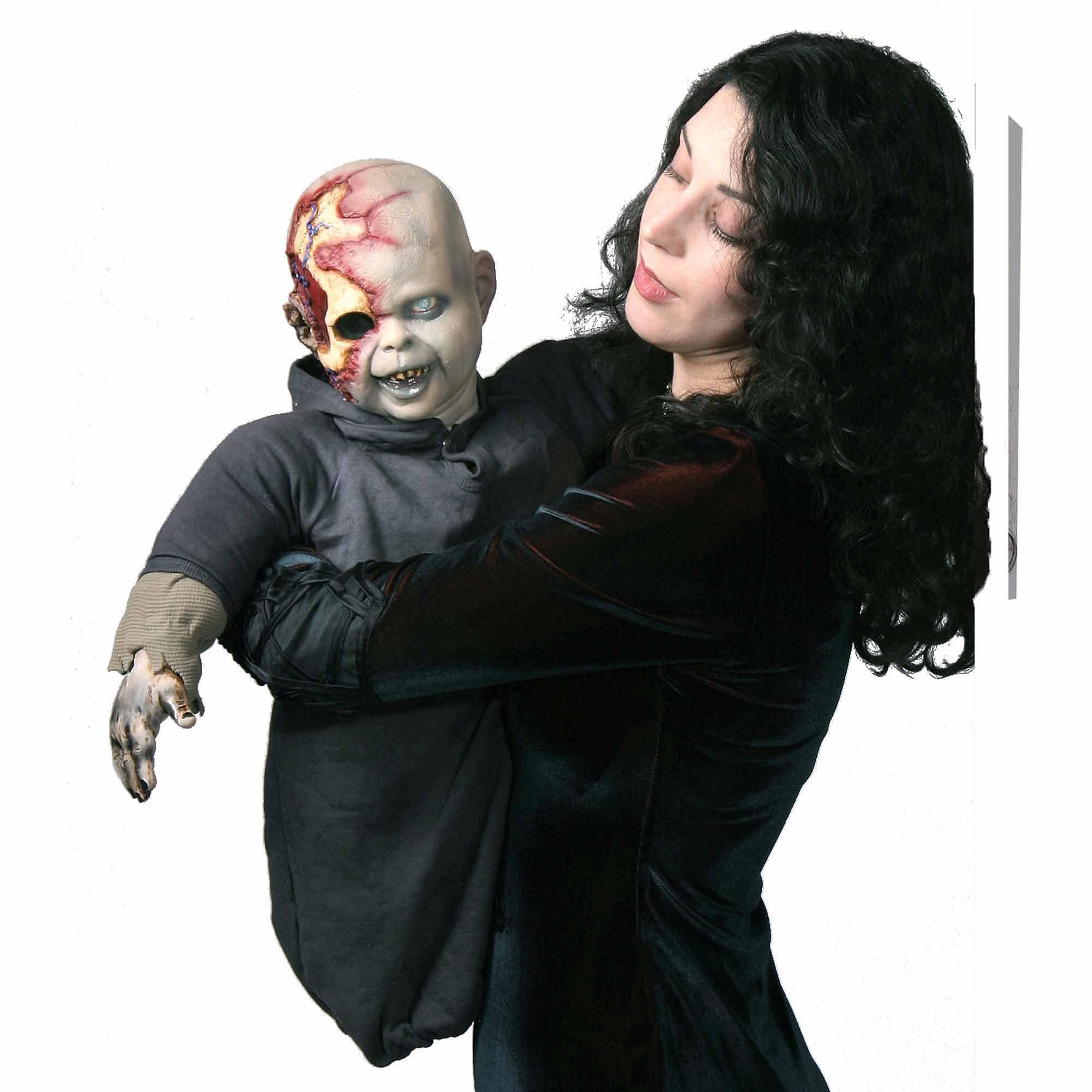 Zombie Zack Latex Puppet Adult Halloween Accessory