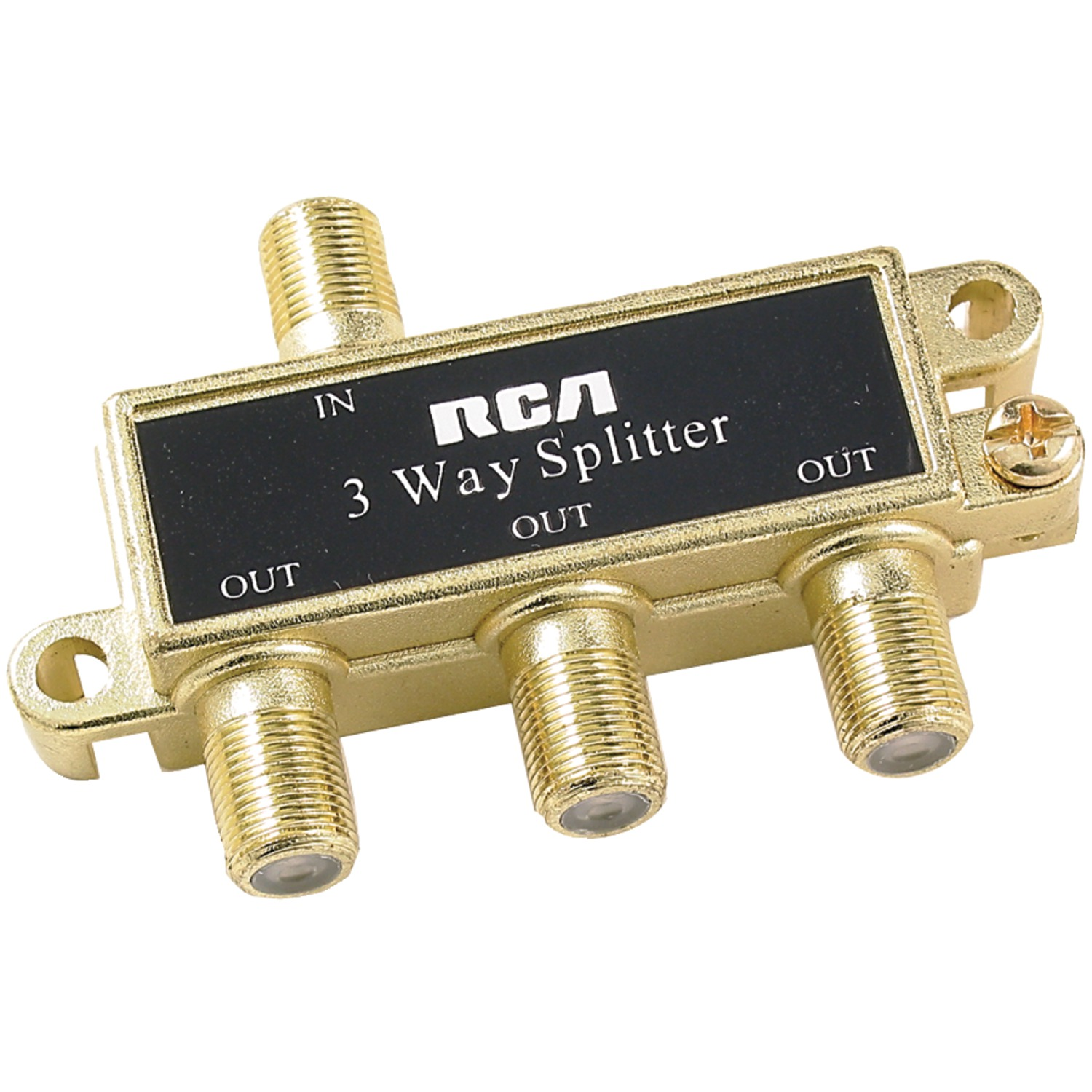 Rca Vh48n 3 Way Splitter Trouble With Tv Using Vcr And Cable