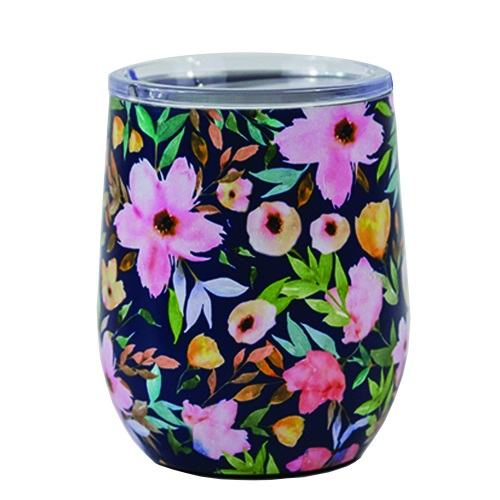 Mary Square Stemless Wine Glass with Lid Hampstead
