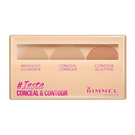 Rimmel Insta Conceal & Contour Palettes in 010 (Insta Meet)