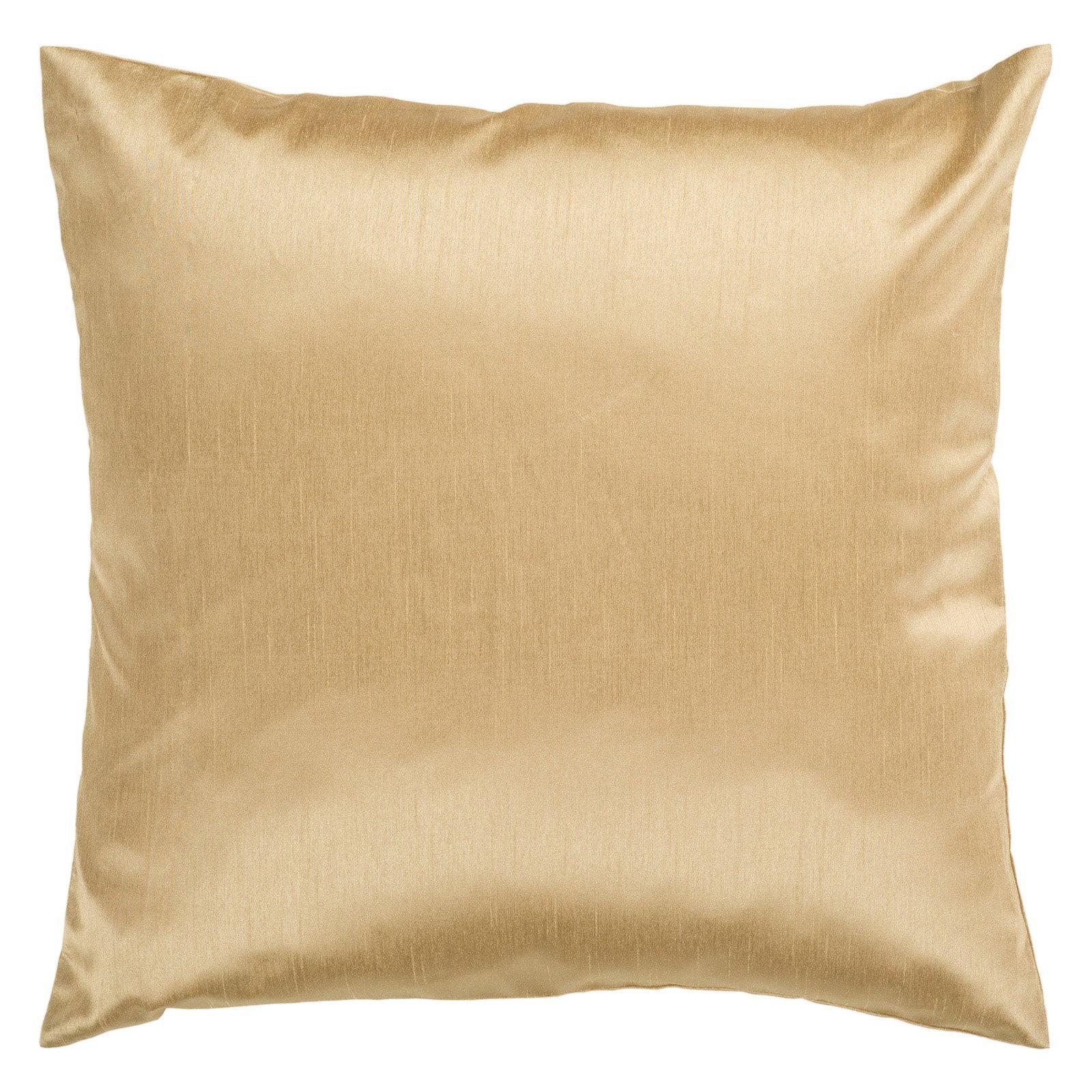 Light Yellow Shiny Pillow HH038