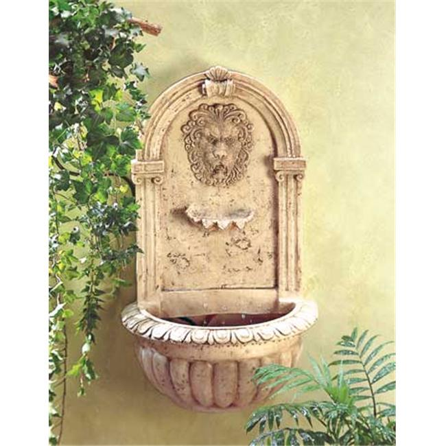 SWM 32428 Lion Head Wall Fountain