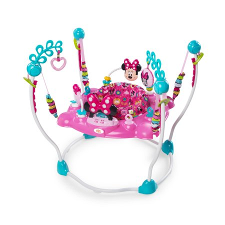 Bright Starts Disney Baby Minnie Mouse Peekaboo Activity Jumper