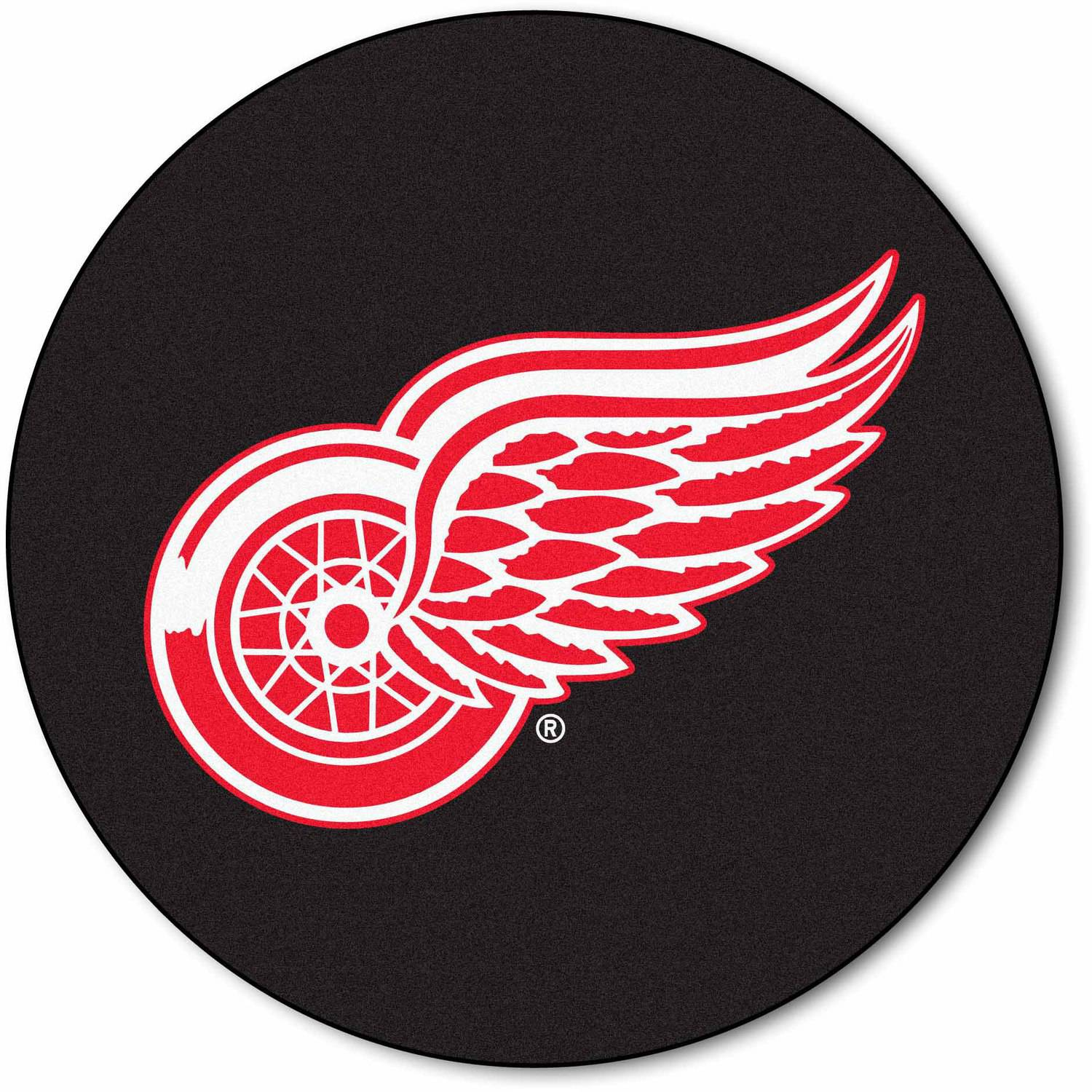 NHL Detroit Red Wings Puck Mat
