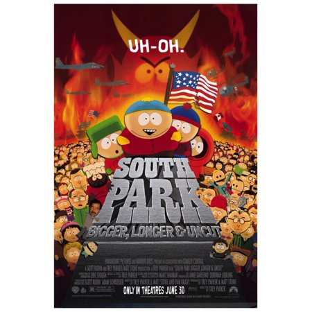 South Park: Bigger, Longer and Uncut (1999) 27x40 Movie