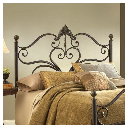 Hillsdale Furniture, LLC. Newton King Bed, Antique Brown Highlight Finish