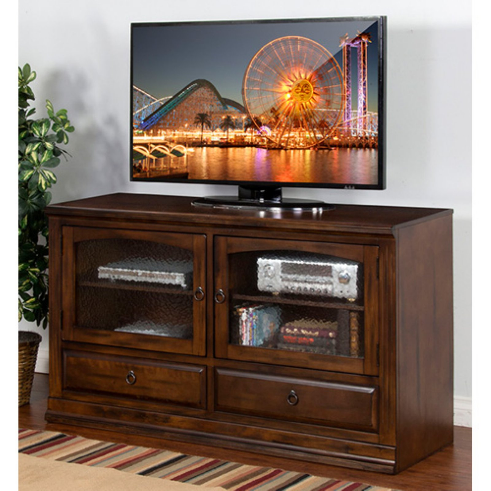 Sunny Designs Santa Fe 63 in. Entertainment Center