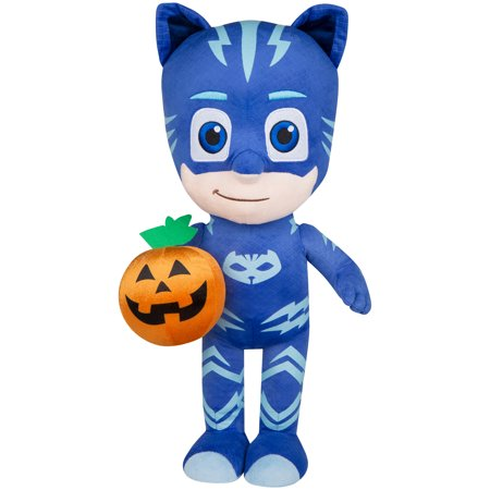 Halloween Greeter Catboy with Jack-o-Lantern PJ Masks by Gemmy - Halloween Mask Art Projects