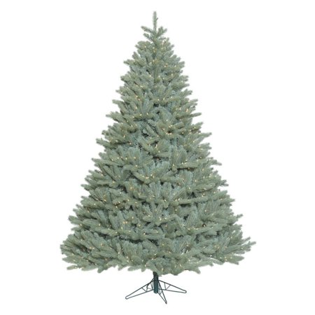 Vickerman 7.5' Colorado Blue Spruce Artificial Christmas Tree with 1250 Clear Lights