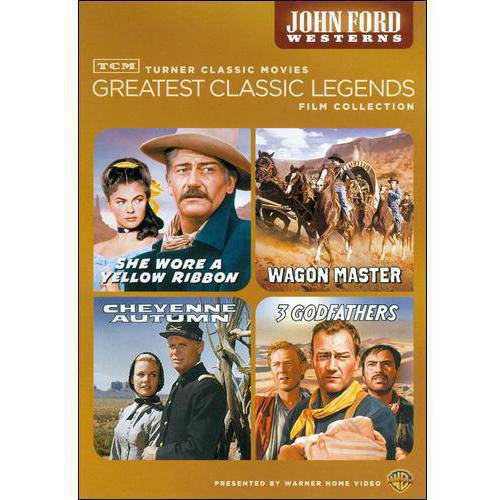 TCM Greatest Classic Legends Collection: John Ford Westerns - She Wore A Yellow Ribbon / Wagon Master / Cheyenne Autumn / 3 Godfathers