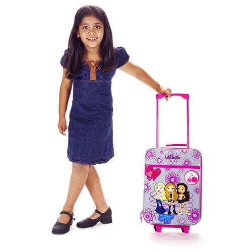 Lil' Bratz Cozmic Girls Rolling Pilot Suitcase