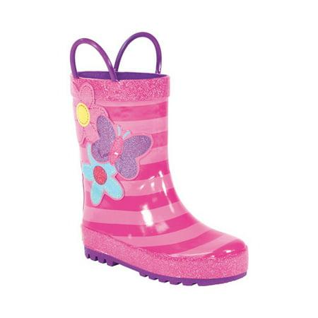 - Girls' Western Chief Blossom Cutie Rain Boot