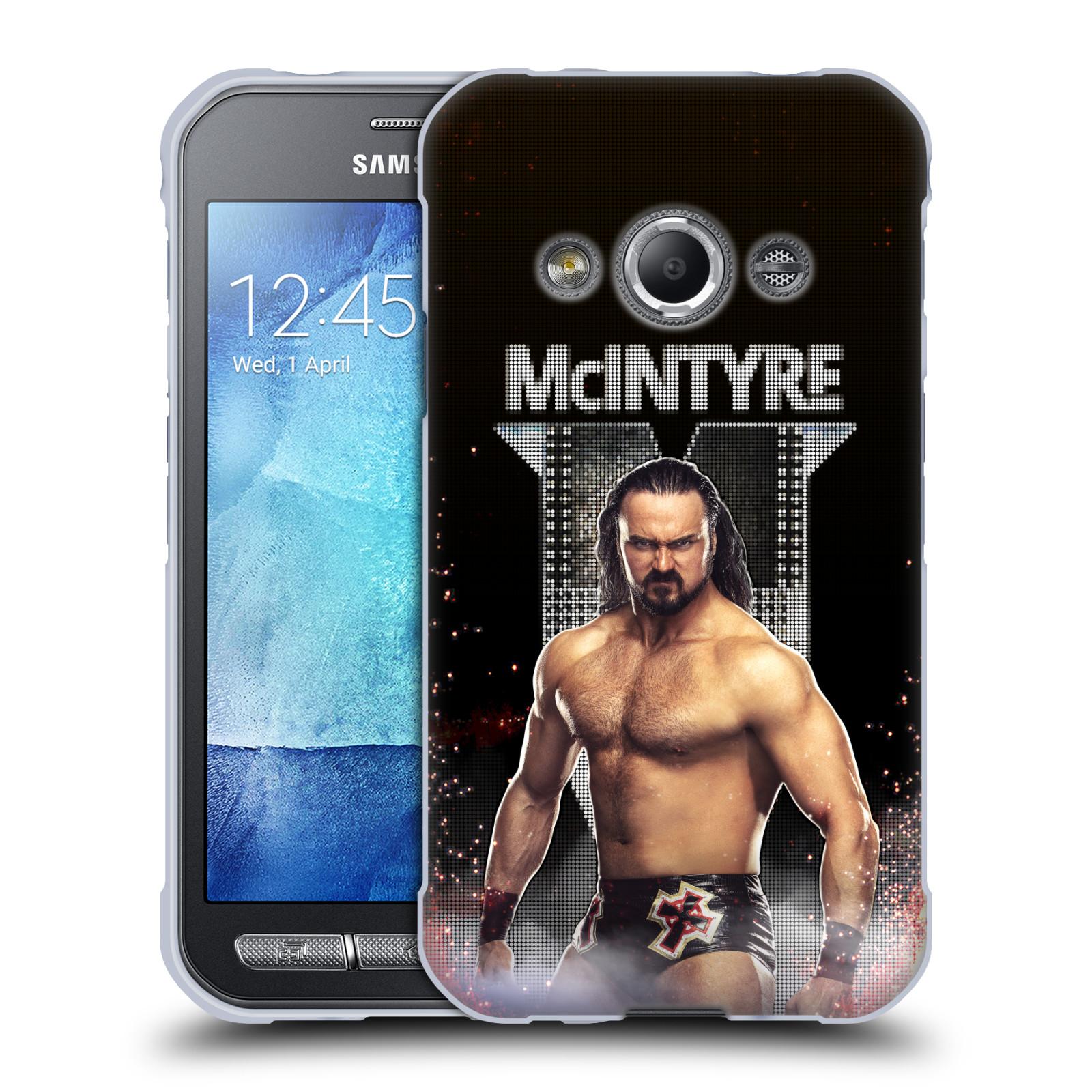 OFFICIAL WWE DREW MCINTYRE SOFT GEL CASE FOR SAMSUNG PHONES 4