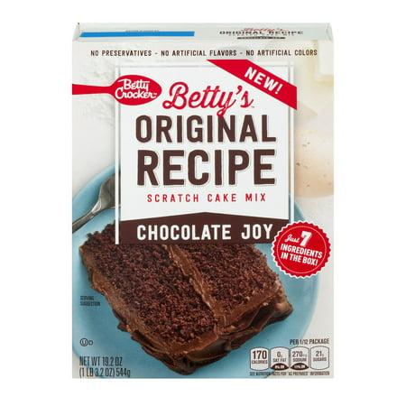 Bettys Original Cake Mix