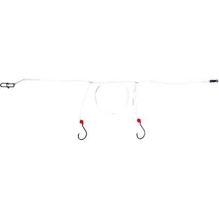 Sea Striker PRCH10 Pompano 2-Drop Circle Hook Rig, #1/0 E.C.