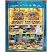 Pastry Shoppe 1000 Piece Puzzle,  Dessert by White Mountain Puzzles