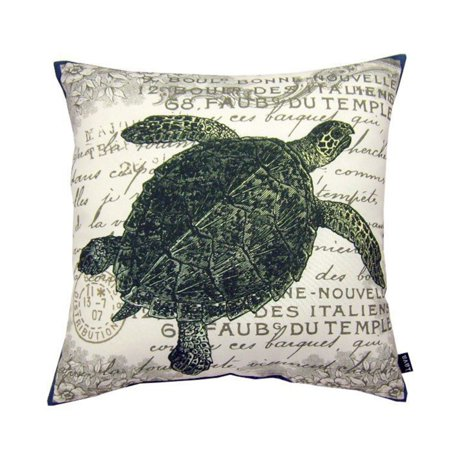 Lava Sea Turtle Indoor/Outdoor - Sea Turtle Pillow