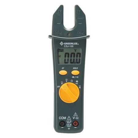 GREENLEE CSJ-100 Csj-100 Open Jaw Clamp Meter Qia G0632661