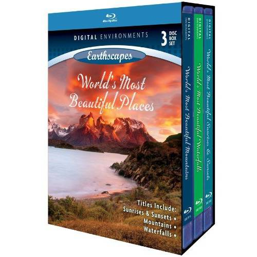 Living Landscapes: Earthscapes World's Most Beautiful Places (Blu-ray) by DIGITAL ENVIROMENTS