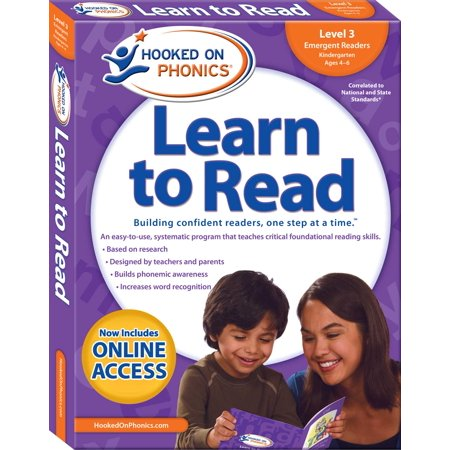 Hooked on Phonics Learn to Read - Level 3 : Emergent Readers (Kindergarten | Ages 4-6) (Hooked On Phonics Readers)