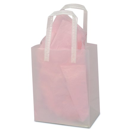 Clear Frosted Handle Bags 5