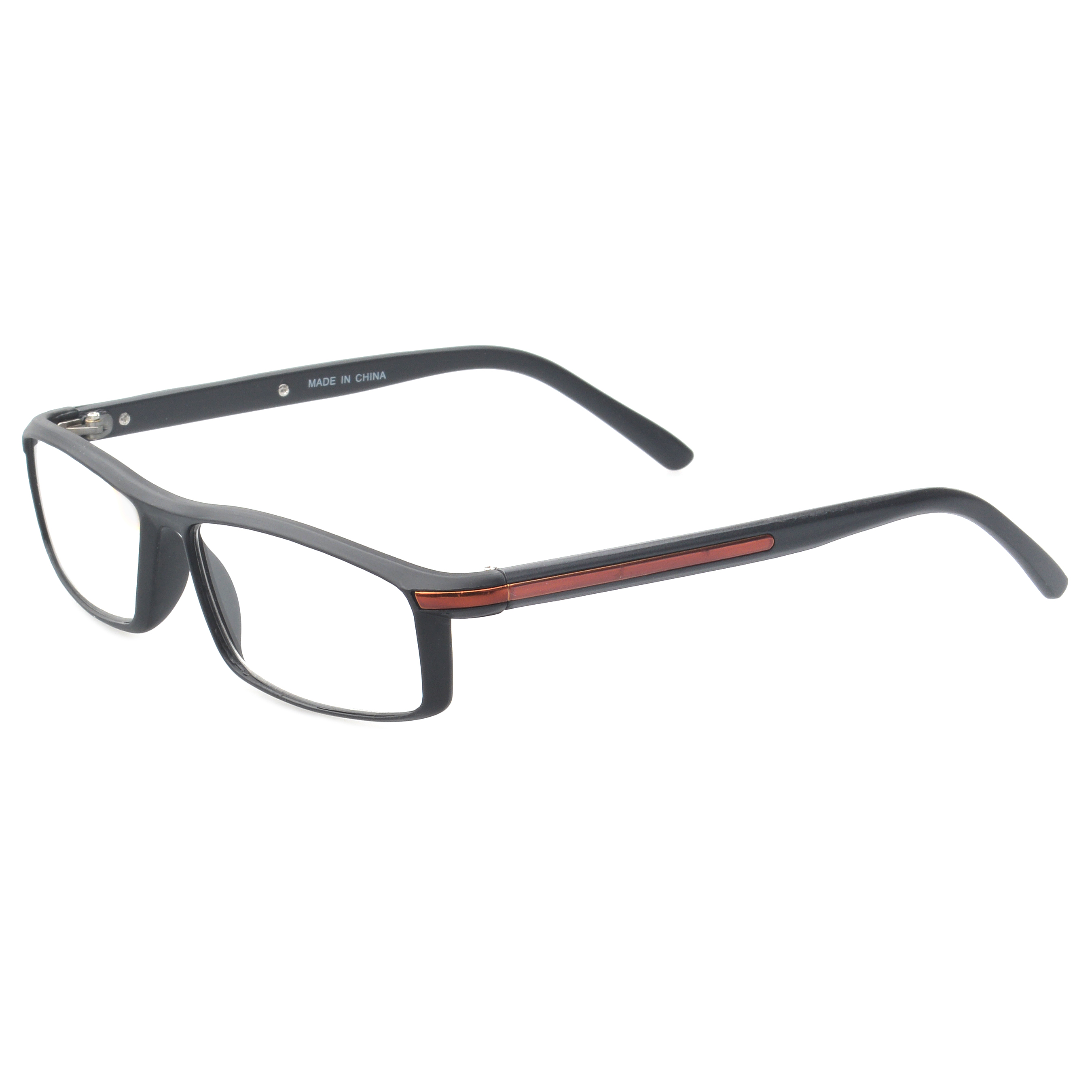 7a1493b842c MLC Eyewear  Saxton  Rectangle Reading Glasses +1.25 in Black - Walmart.com