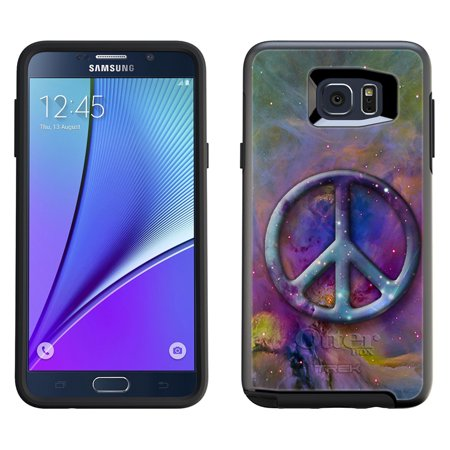 OtterBox Symmetry Samsung Galaxy Note 5 Case - Peace on Nebula Multicolor OtterBox Case