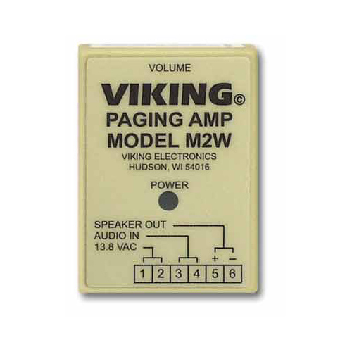 """Viking Electronics M2W Paging Products"""