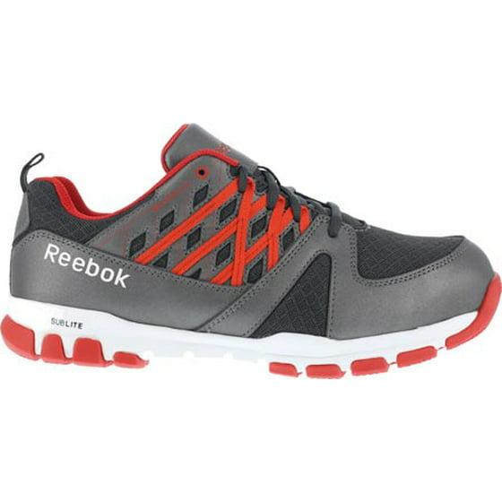 71f1f2b3019 Reebok - Reebok Work Men s Sublite Work RB4005 Steel Toe Sneaker -  Walmart.com